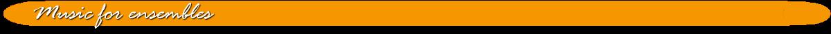 web site section music ensembles