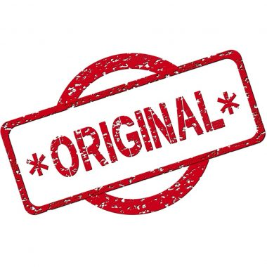 Originality – Nice, But is it Necessary?
